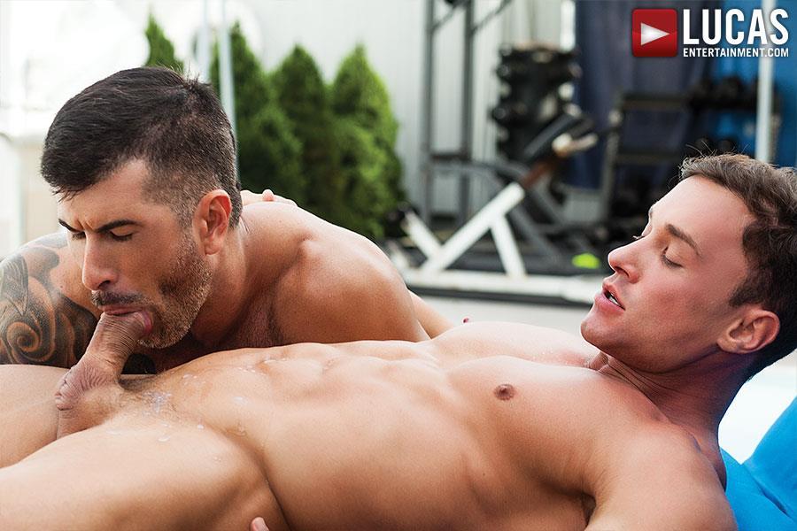 Lucas Entertainment Alexander Volkov and Adam Killian Muscule Bareback Fuck Amateur Gay Porn 09