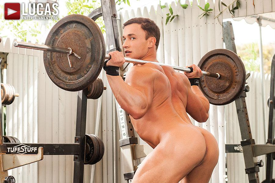 Lucas Entertainment Alexander Volkov and Adam Killian Muscule Bareback Fuck Amateur Gay Porn 20