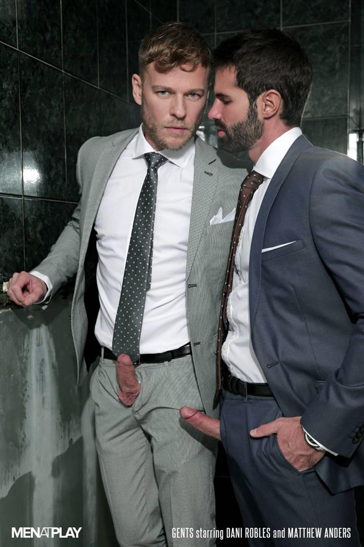 Men At Play Matthew Anders and Dani Robles Men In Suits With Big Cocks Fucking Amateur Gay Porn 01