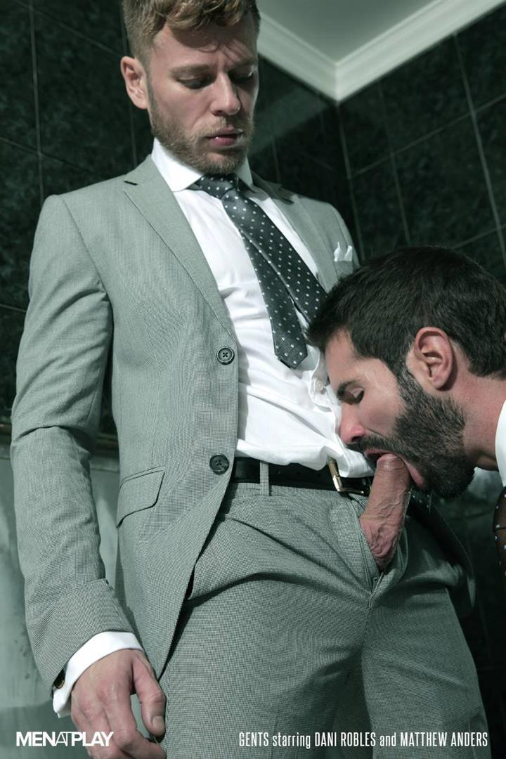 Men At Play Matthew Anders and Dani Robles Men In Suits With Big Cocks Fucking Amateur Gay Porn 05
