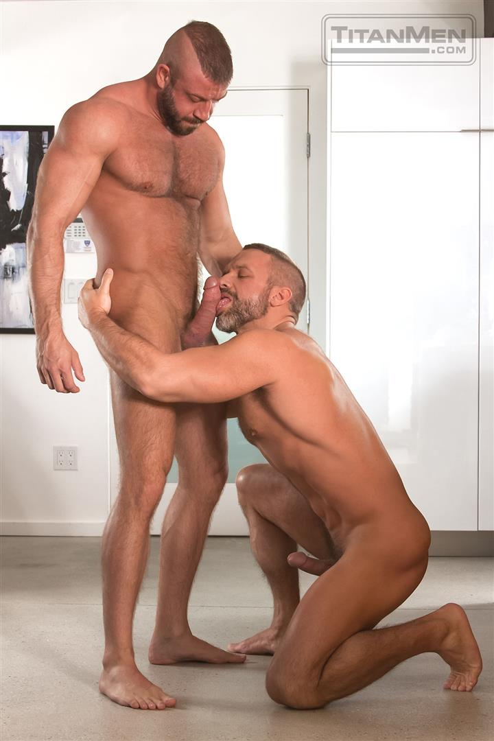 Titanmen Titan Hunter Marx and Dirk Caber Hairy Muscle Daddy Fuck Amateur Gay Porn 05
