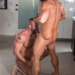 Titanmen Titan Hunter Marx and Dirk Caber Hairy Muscle Daddy Fuck Amateur Gay Porn 07 150x150 Dirk Carber Gets Fucked Hard By Another Muscle Daddy With A Thick Cock