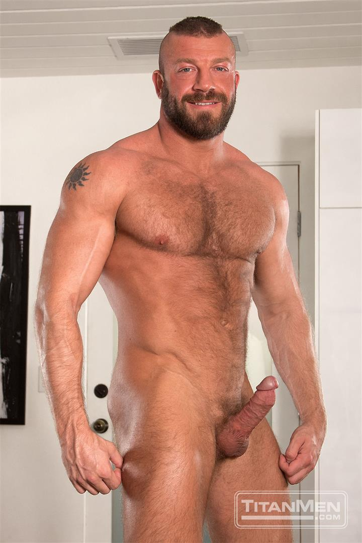 Titanmen Titan Hunter Marx and Dirk Caber Hairy Muscle Daddy Fuck Amateur Gay Porn 14