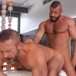 Titanmen Titan Hunter Marx and Dirk Caber Hairy Muscle Daddy Fuck Amateur Gay Porn 35 150x150 Dirk Carber Gets Fucked Hard By Another Muscle Daddy With A Thick Cock