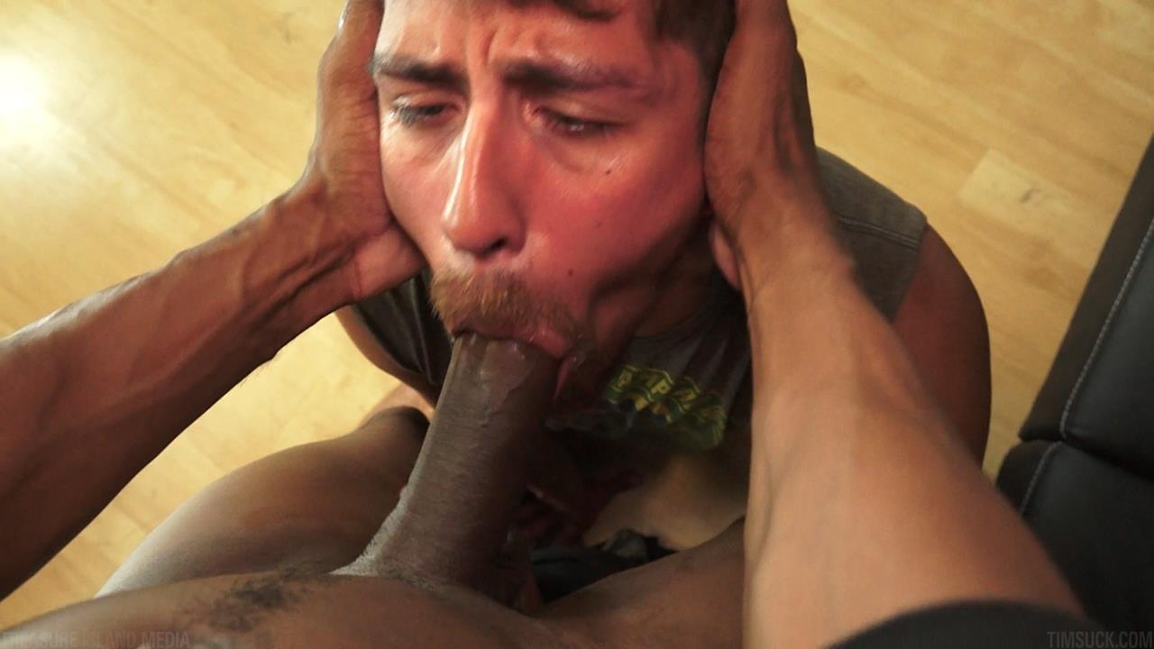 Treasure Island Media TimSUCK Tecate and Javin Big Black Uncut Cock Sucking Amateur Gay Porn 33