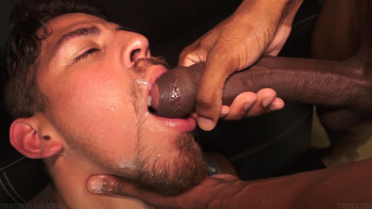Treasure Island Media TimSUCK Tecate and Javin Big Black Uncut Cock Sucking Amateur Gay Porn 48