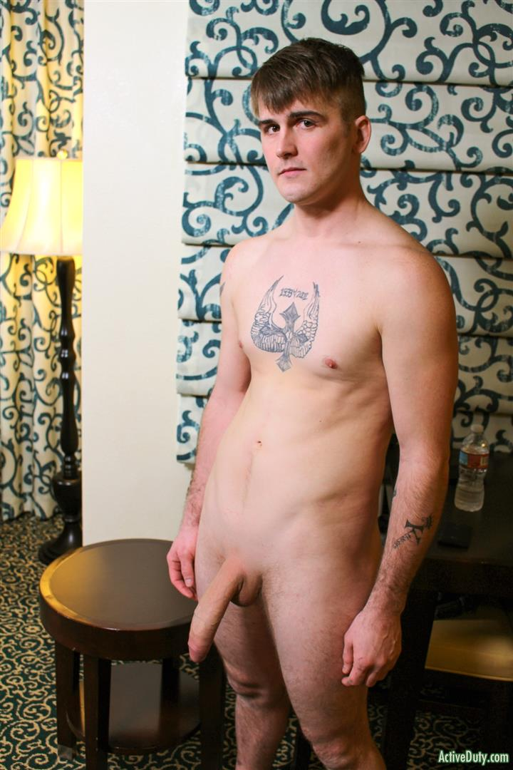 Active Duty Ricky Stance Allen Lucas Naked Army Guys Bareback Fuck Amateur Gay Porn 03