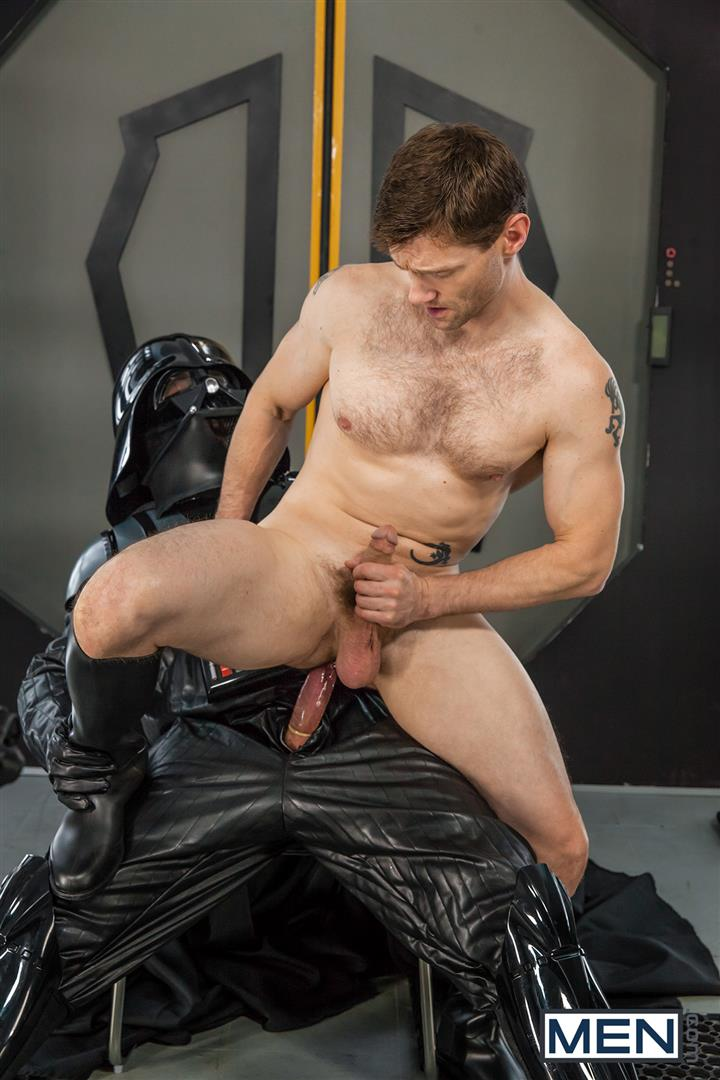 Men Dennis West Gay Star Wars Parody XXX Amateur Gay Porn 42