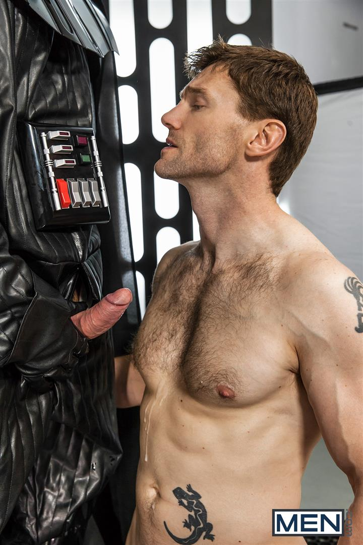Men Dennis West Gay Star Wars Parody XXX Amateur Gay Porn 45