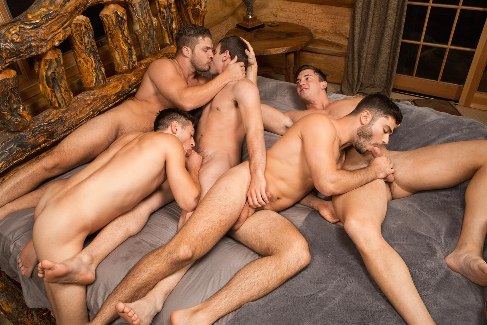 Sean Cody Winter Getaway Day 1 Big Dick Hunks Fucking Bareback Amateur Gay Porn 09