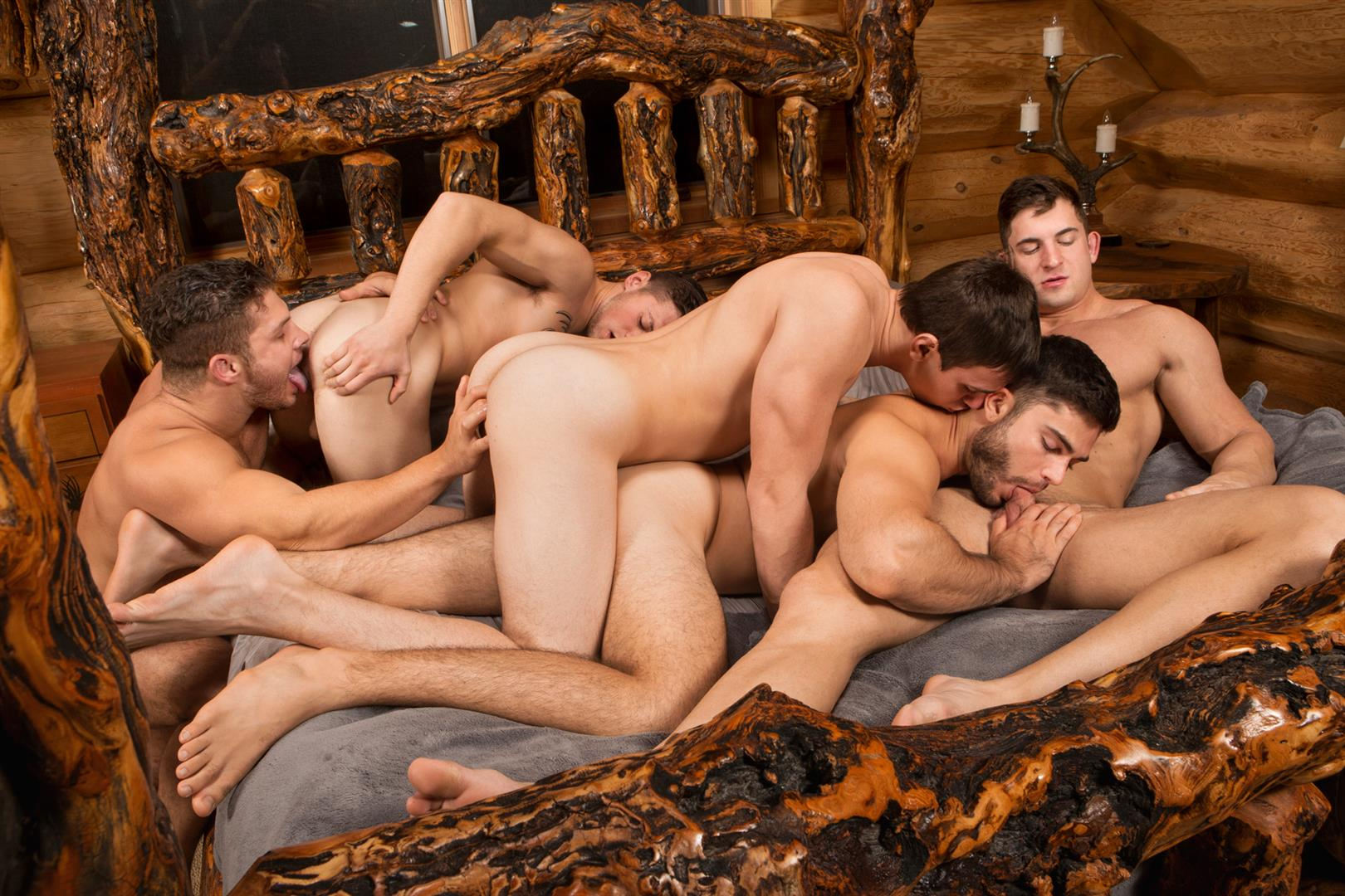 Sean Cody Winter Getaway Day 1 Big Dick Hunks Fucking Bareback Amateur Gay Porn 11