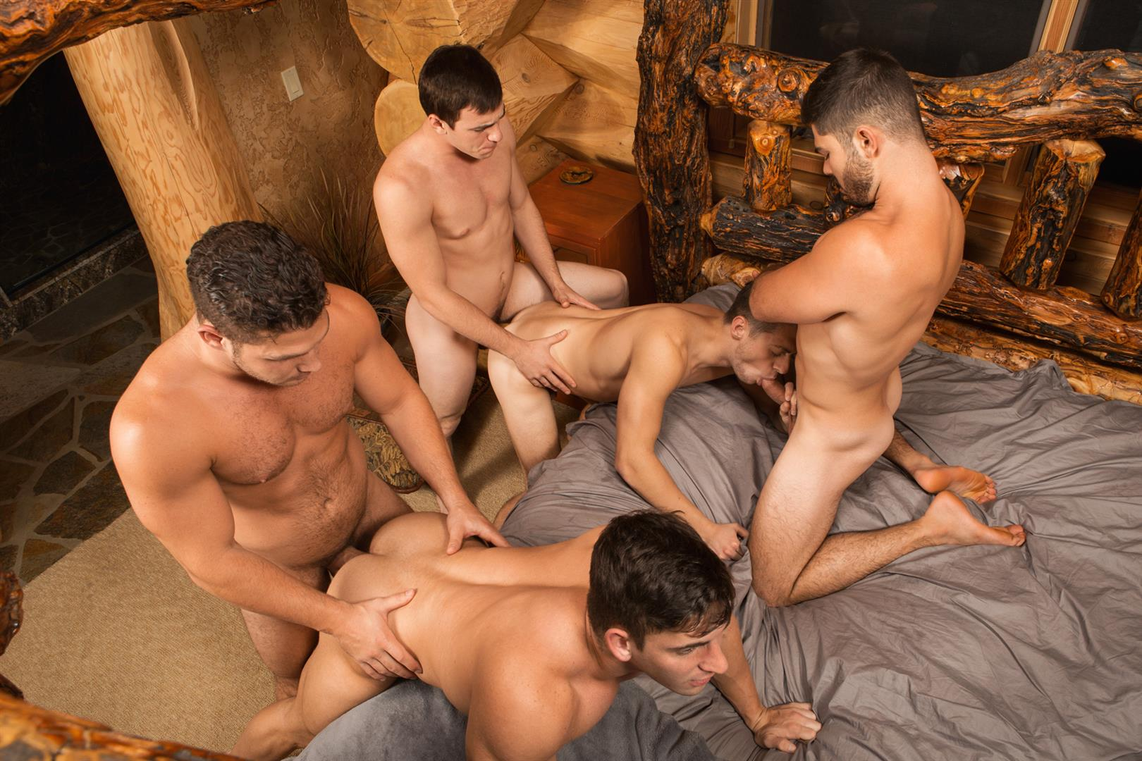 Sean Cody Winter Getaway Day 1 Big Dick Hunks Fucking Bareback Amateur Gay Porn 12
