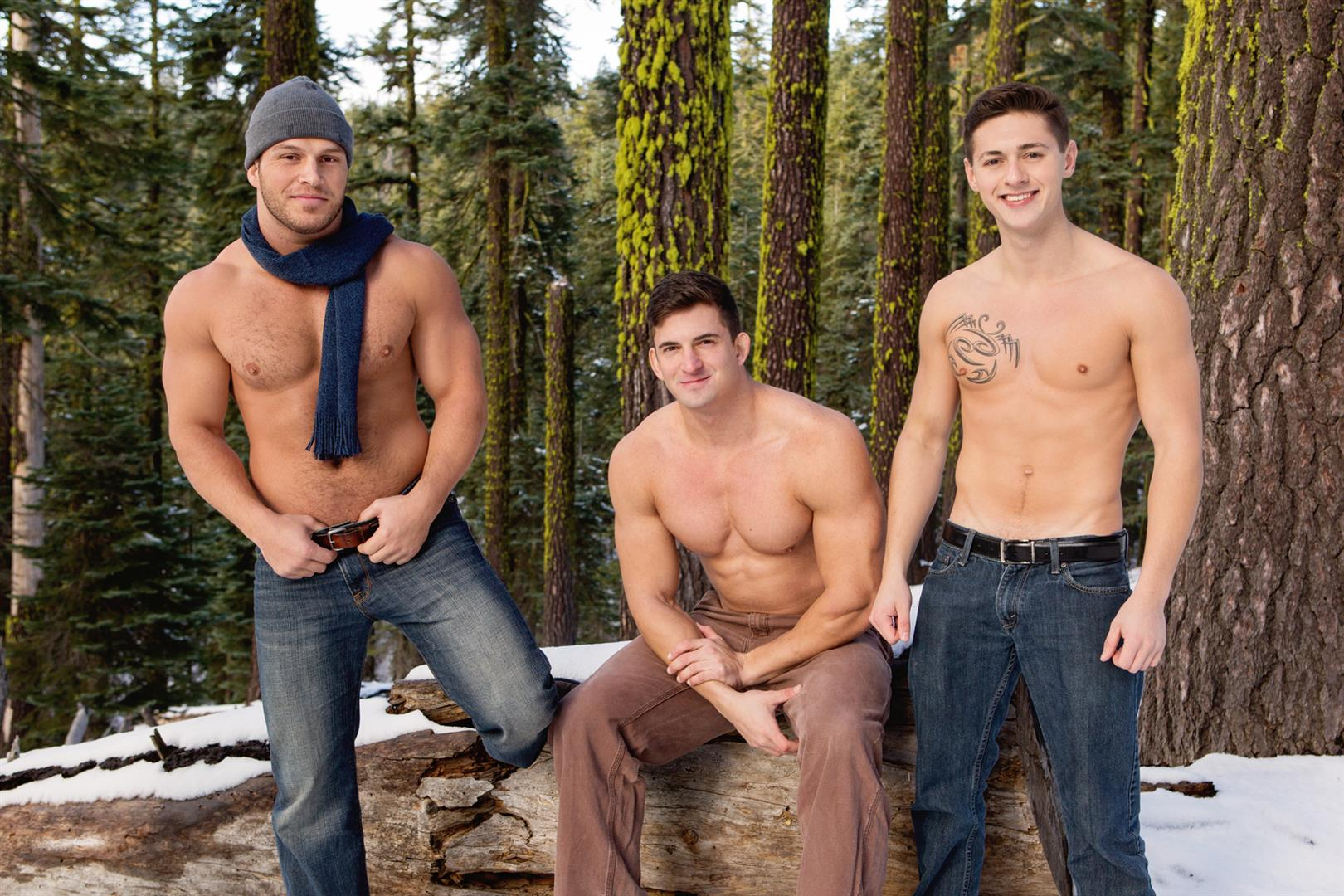 Sean Cody Winter Getaway Day 2 Big Dick Hunks Fucking Bareback Amateur Gay Porn 10
