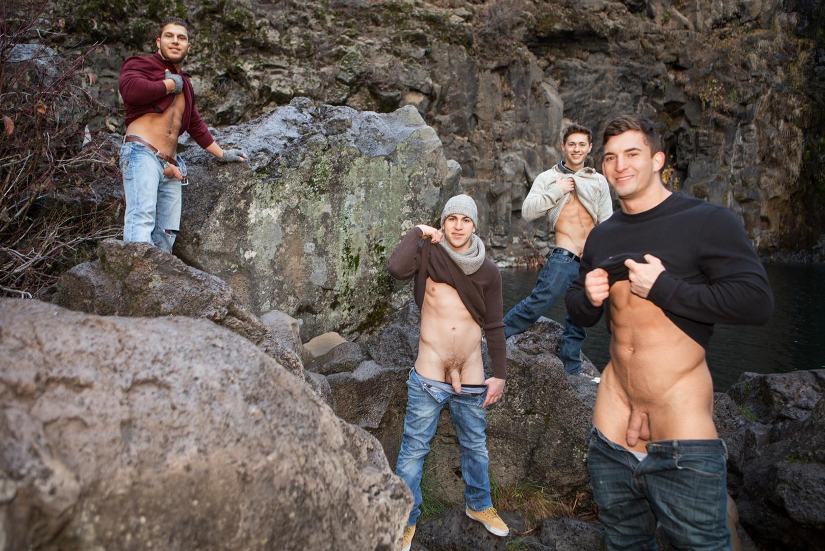 Sean Cody Winter Getaway Day 4 Big Dick Hunks Fucking Bareback Amateur Gay Porn 03