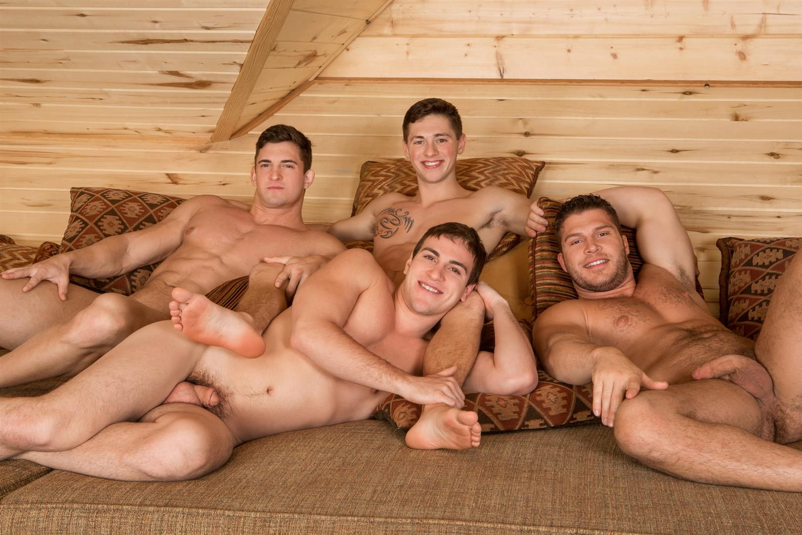 Sean Cody Winter Getaway Day 4 Big Dick Hunks Fucking Bareback Amateur Gay Porn 13