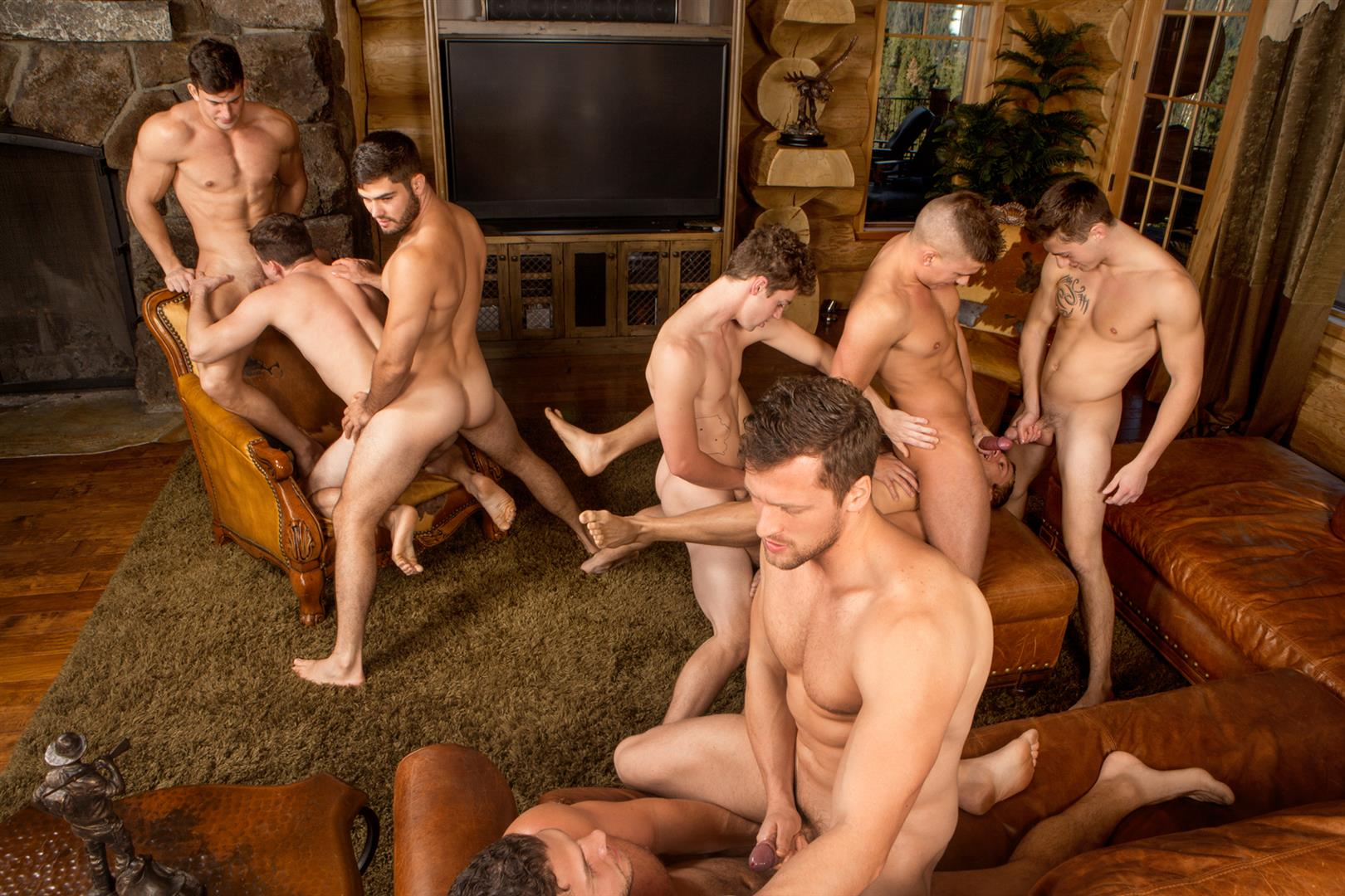 Sean Cody Winter Getaway Day 5 Big Dick Hunks Fucking Bareback Amateur Gay Porn 13
