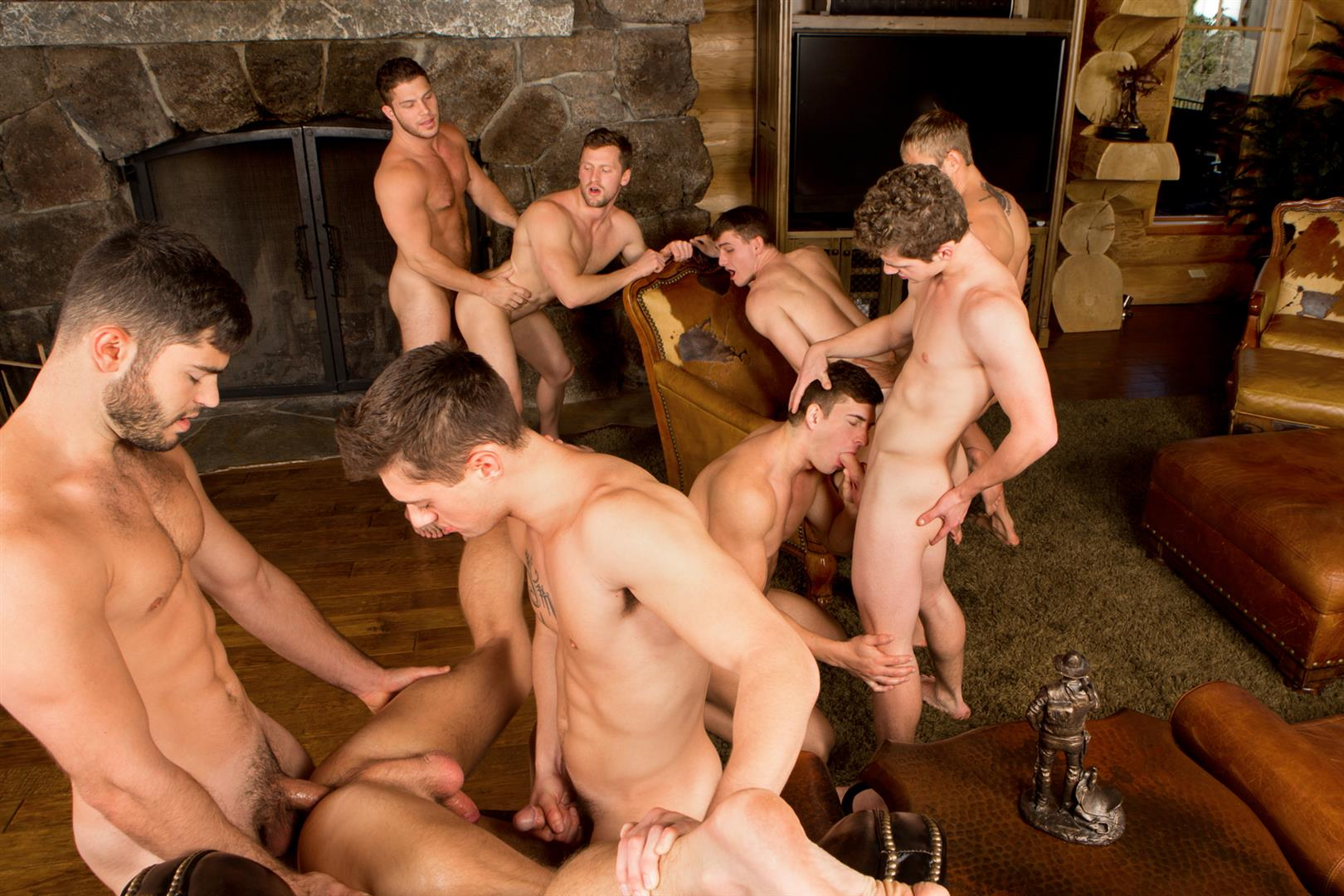 Sean Cody Winter Getaway Day 5 Big Dick Hunks Fucking Bareback Amateur Gay Porn 17