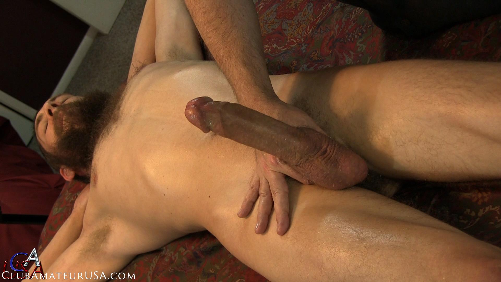 Club Amateur USA Wyatt Straight Redneck Getting Jerked Off Amateur Gay Porn 23