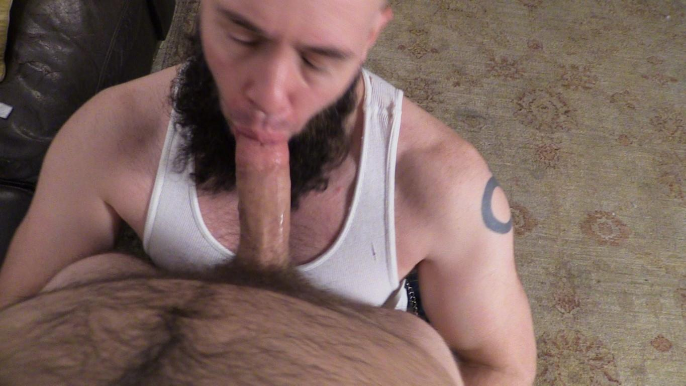 New York Straight Men Franco Fanatic and Dave Hairy Cub Getting Dick Sucked Amateur Gay Porn 09