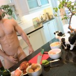 Maskurbate Muscle Hunk With A Big Uncut Cock Jerking Off Amateur Gay Porn 07 150x150 The Naked Chef Jerks His Big Uncut Cock In The Kitchen