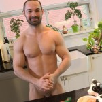 Maskurbate Muscle Hunk With A Big Uncut Cock Jerking Off Amateur Gay Porn 15 150x150 The Naked Chef Jerks His Big Uncut Cock In The Kitchen