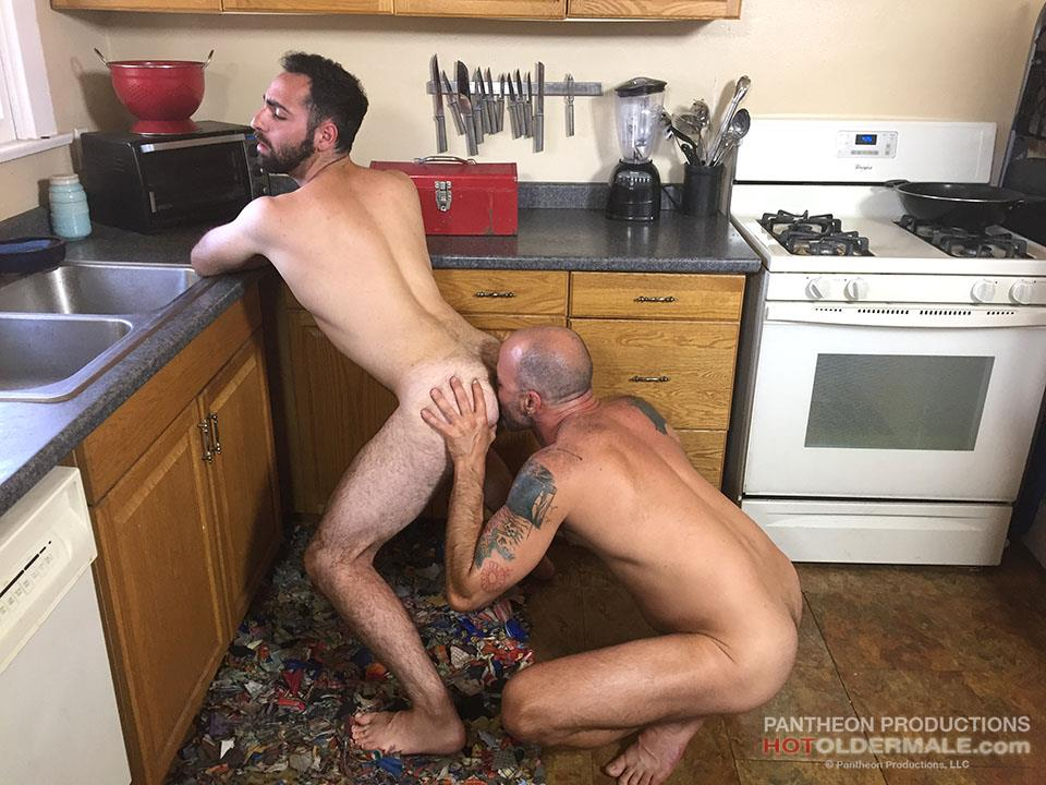 Hot Older Male Dave Rex and Anthony Naxos Thick Daddy Cock Amateur Gay Porn 13