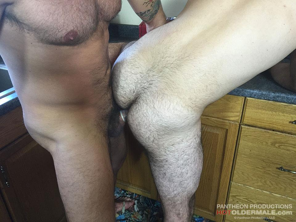 Hot Older Male Dave Rex and Anthony Naxos Thick Daddy Cock Amateur Gay Porn 18