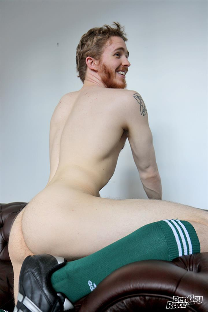 Bentley Race Tomas Kyle Redheaded Jock With A Big Uncut Cock 14 Ginger Jock Busts Out His Big Uncut Cock And Hairy Balls